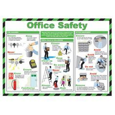 #Officesafety Health and Safety at Work. You could print this out and hang it in your office so everyone can read it.