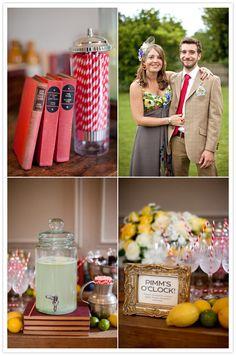 Town   Country England wedding: Lisa   Rory   Real Weddings   100 Layer Cake