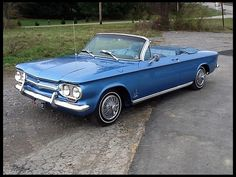 1963 Chevrolet Corvair Convertible   I had one of these.  It was light blue with a white convertible top.  I loved it.