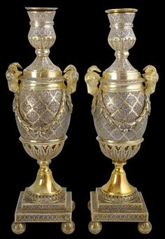 Matthew Boulton Indian Silver Filigree Cassoulettes,c.1770.