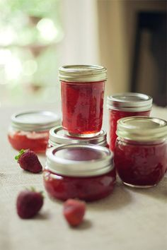 easy strawberry jam recipe
