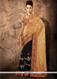 Indian dress Bollywood saree Designer saree by myglitteringworld, $299.99
