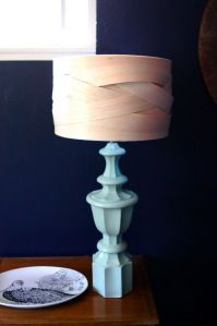 Woven Wood Lamp Shade