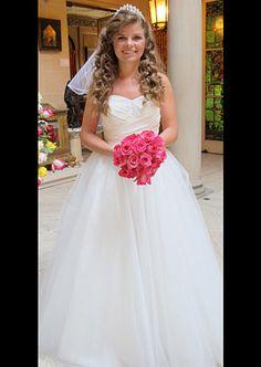 Dress: Alfred Angelo Disney Princess Collection (Cinderella 205) #FourWeddings #Weddings