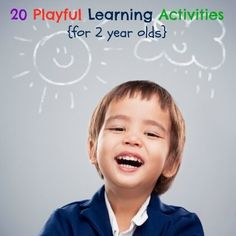 20 Activities for your 2 Year Old