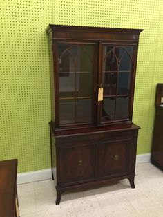 Lovely Union Furniture Co., Jamestown, NY China Cabinet Available For Sale  Woodstock Market