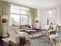 Vicente Wolf Refreshes a Prewar Manhattan Apartment With Eclectic Art Photos   Architectural Digest