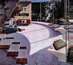 1961 in the sun, Motorola, artist- Charles Schridde