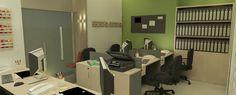 Escritório Imobiliário - sala de operações