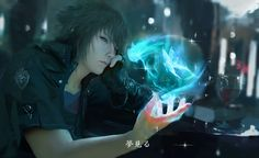 Noctis by Jiyu-Kaze.deviantart.com on @deviantART * This IS a DRAWING!!! Not a photomanipulation, not 3d cg, it's a hyper realistic ( really it's the crazy pro work on digital art) form of art by this is amazing artist!!*