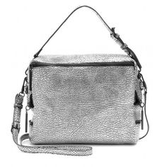 Silver 3.1 Phillip Lim  Textured Leather Satchel