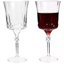 10-oz. Elegant Plastic Wine Glasses, 2-ct. Packs