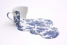 porcelana derretida.melting china
