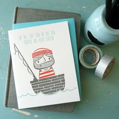 Isabell's Umbrella offers sweet cards, prints, jotters, bookmarks and custom rubber stamps with a sly, subtle and sweet sense of humor running through it.