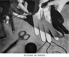 How to Make Gloves by Eunice Close, 1950. Entire book online.