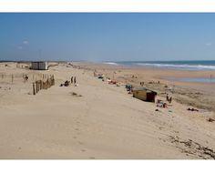 La grande plage de Saint Trojan est une des plus belle de l'Île. #Plage