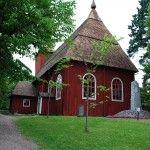 Ulrika Eleonoran kirkko. Kuva: Kajsa Snickars---- Ulrika Eleonora's church, Kristiinankaupunki