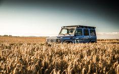 A trip through the golden fields with the Mercedes-Benz G-Class.  Photo by Johannes Gloeggler (www.johannesgloeggler.de) for #MBsocialcar