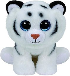 Ty - TY42106 - Beanies - Peluche Tundra Le Tigre 15 cm