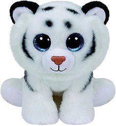 Ty - TY42106 - Beanies - Peluche Tundra Le Tigre 15 cm
