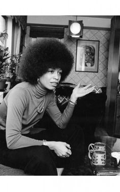 Angela Davis Photographic Print by G. Angela Davis, Black Panther Party, Black Power, Women In History, Black History, My Black Is Beautiful, Beautiful Women, Amazing Women, Beautiful People