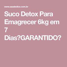 Suco Detox Para Emagrecer 6kg em 7 Dias【GARANTIDO】