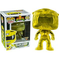 POP Power Rangers Yellow Ranger Morphing Exclusive (RS)