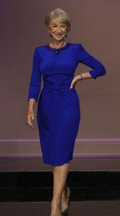 Helen Mirren | More inspiration at 40plusstyle.com
