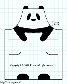 Panda apron - http://sew-ing.com/make/apron_panda.html