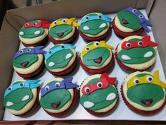 tmnt cupcakes - Google Search