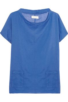 Chinti and Parker Cotton-voile top