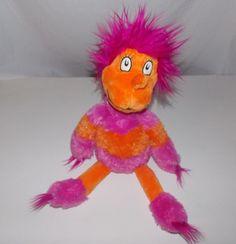 "Kohl's Cares Dr Seuss There's A Wocket In My Pocket Pink Orange Plush 17"" #KohlsCaresForKids"