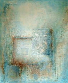 Den hellige skatten 100x80 cm.Akryl på lerret m/ strukturer (mixed media). Fargenyanser:Vanilje, lys blå, kornblå, turkis, petrolblå, gylden, mokka, brun.  For å se detaljer eller strukturer osv. i maleriet, kan duklikke opp bildetellerbevege musepekeren over bildet. Deep Purple, Norway, Abstract Art, Artwork, Painting, Abstract, Photo Illustration, Work Of Art, Auguste Rodin Artwork