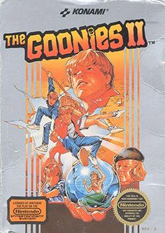 The Goonies Cover Box