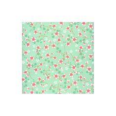 Tapete Cherry Blossom grün