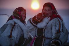 Nenets celebrate Reindeer Herders' Day Photographs were taken by AP photographer Dmitry Lovetsky in the city of Nadym, Yamal-Nenets Region in the Arctic on March 14-15, 2015.