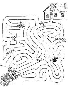 mazes mazes for kidsmazes for kids printable labyrinth game kids Logic Games For Kids, Free Games For Kids, Puzzles For Kids, Kids Mazes, Maze Worksheet, Preschool Worksheets, Preschool Activities, Free Kids Coloring Pages, Coloring For Kids