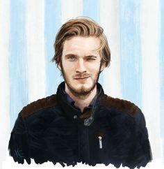Cool drawing of Felix (Pewdiepie)