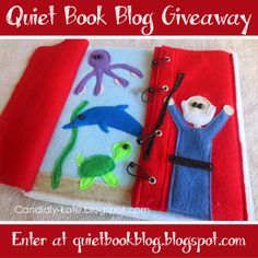 Remember to enter the Quiet Book Blog giveaway!