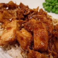Crock Pot Honey Chicken and Rice Recipe   Just A Pinch Recipes