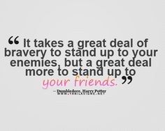 I love Dumbledore quotes! (: