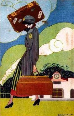 Umberto Brunelleschi (1879 - 1949) #illustration #design