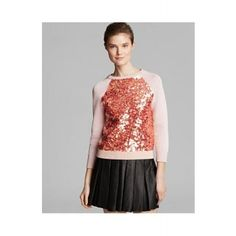 MARC BY MARC JACOBS Gretta Sequin Sweater  SPECIAL PRICE: $223.50 via savoirmode.com  #savoirmode #marcjacobs #MJ #sweatshirt #sequin #sweatshirt #pink #musthave #freshdeals #fashion #style #cute #sparkle