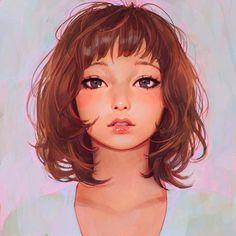 Ilya Kuvshinov est un artiste basé à Yokohama au Japon et qui est fan de digital painting ainsi que de portraits.
