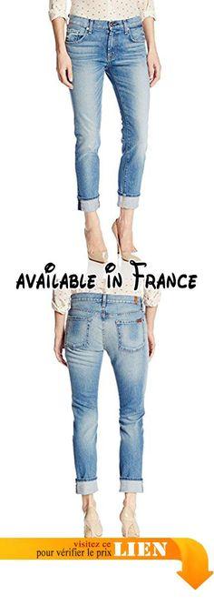 B00KMLQVIC : 7 For All Mankind - Jeans - Femme taille unique - bleu - 56.