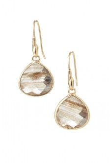 Stella and dot Serenity Small Stone Drops! Gorgeous for Every Day! www.stelladot.com/sites/kristinkarndt