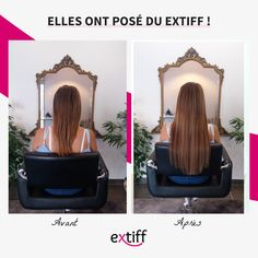 Extensions de cheveux à clips EXTIFF 50cm 120gr couleur 4/10