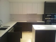 Get quotes from Monika's Construction Ltd Flooring Expert in London. Find an expert trade. Brown Kitchens, Kitchen Cupboards, Colour Schemes, Dark Brown, Kitchen Design, Contrast, Construction, Layout, House Design