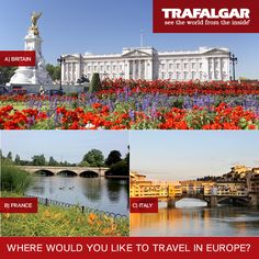 So which of these is on your bucket list? Explore these countries on our trips: www.trafalgar.com