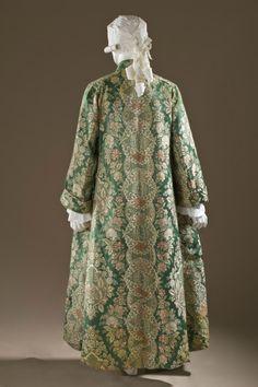Man's At-home Robe (Banyan) and Waistcoat, France, circa 1720